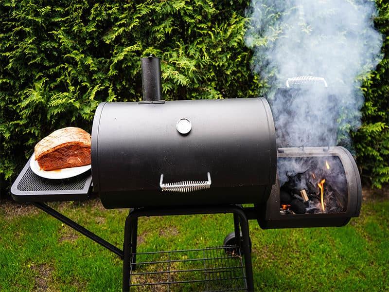 Charcoal Smoker Grill Combo