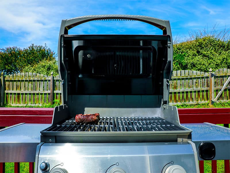 Propane Grill Camping